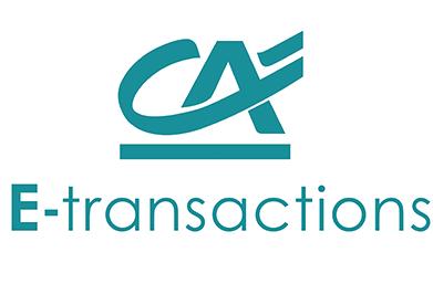 logo CA E-TRANSACTIONS